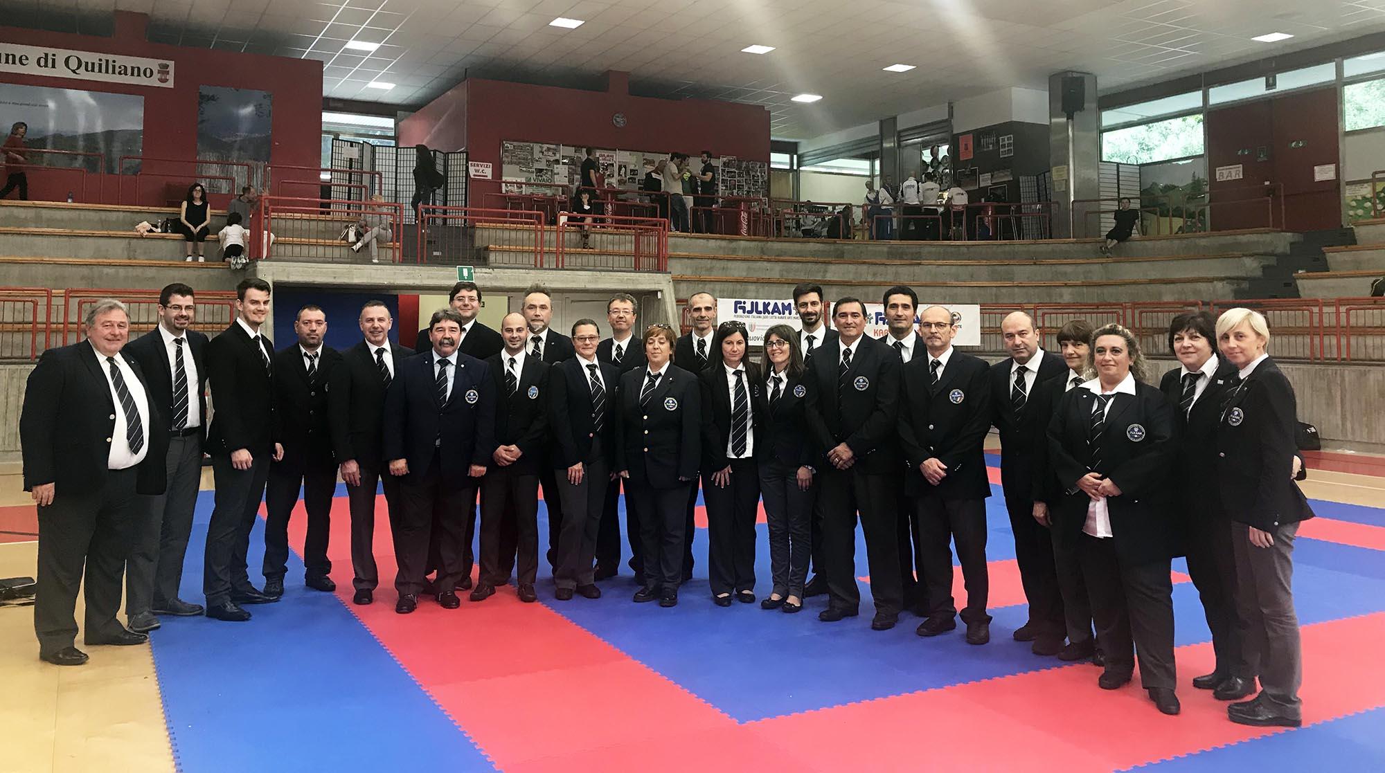 Gruppo Arbitrale master 2018